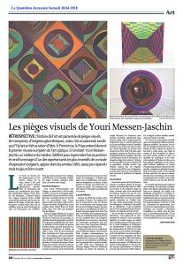 Le Quotidien Jurassien 28.04.2018